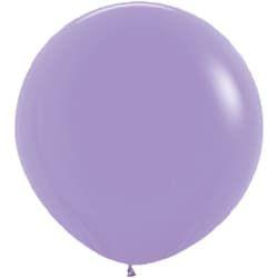 Большой шар Сиреневый пастель 91 см.