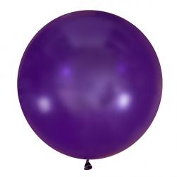Большой шар Фиолетовый пастель 91 см.