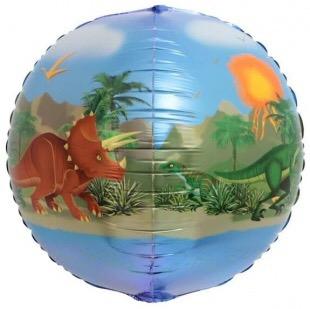 Сфера 3D, Динозавры, 61 см.
