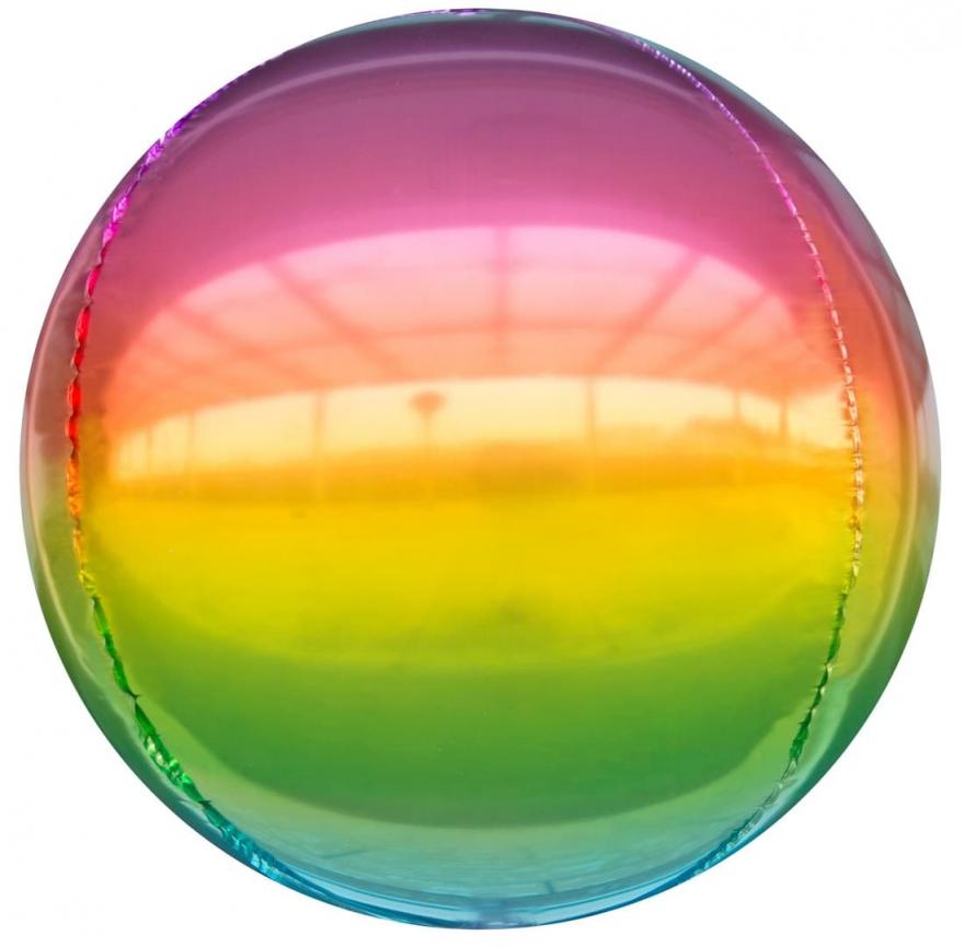 Сфера 3D, Радужный Градиент 61 см.