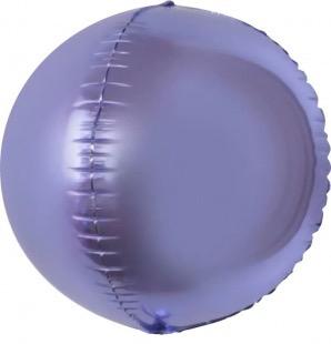 Сфера 3D, Сиреневый 61 см.