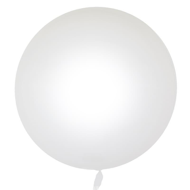 Шар Deco Bubble, Белый Глянец 46 см.