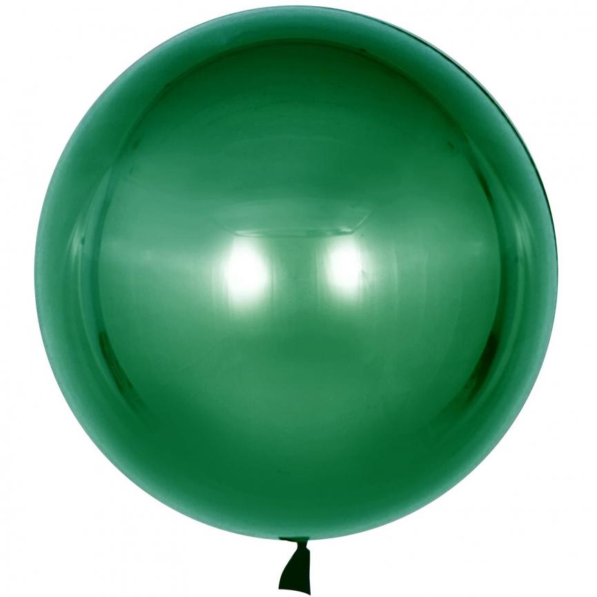 Шар Deco Bubble, Зеленый 46 см.