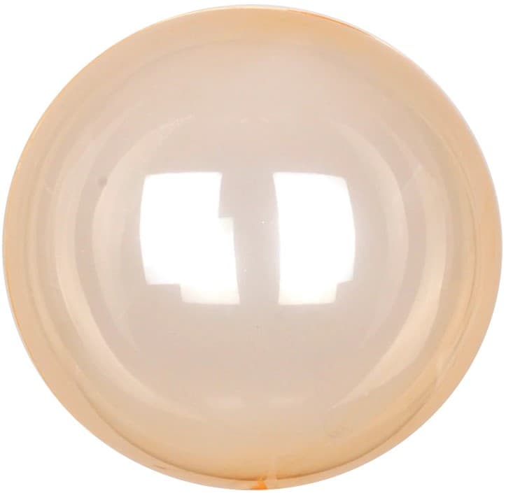 Шар Deco Bubble, Оранжевый Кристалл 46 см.
