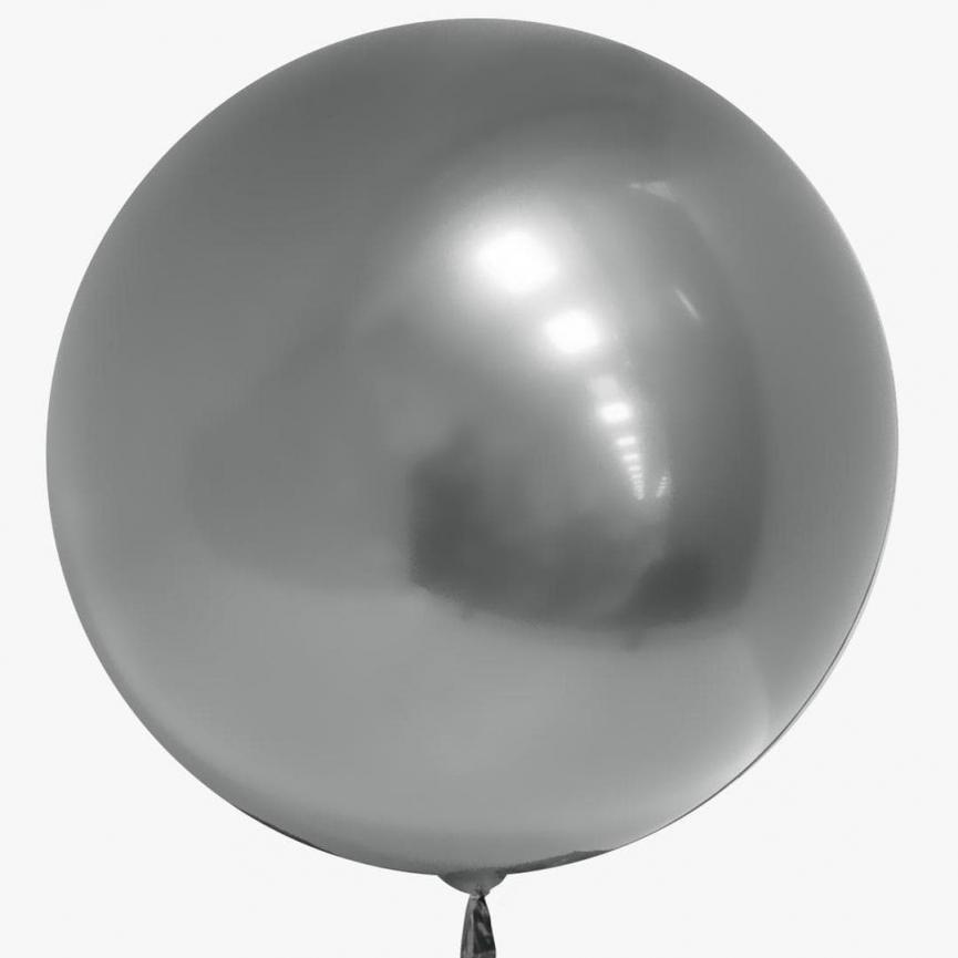 Шар Deco Bubble, Серебро Хром 46 см.