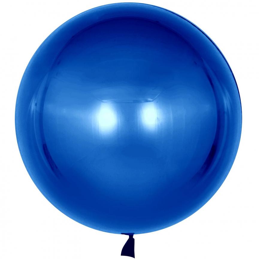 Шар Deco Bubble, Синий 46 см.