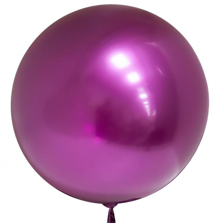 Шар Deco Bubble, Фуше Хром 46 см.