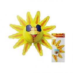 Бумажное украшение Солнышко 39см