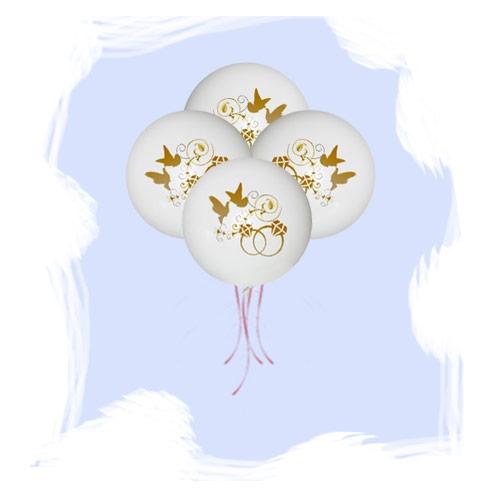 Большой шар Свадебная тематика 91см