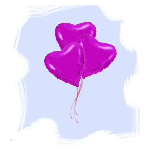 Сердце фуше 46 см