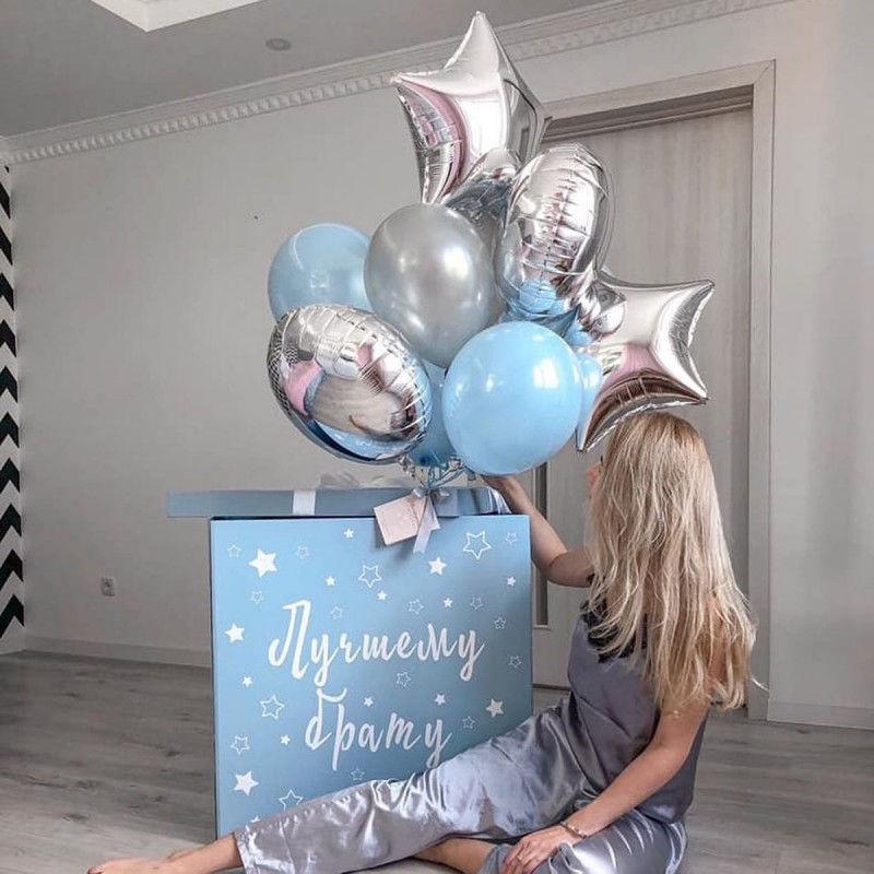Голубая коробка сюрприз №2