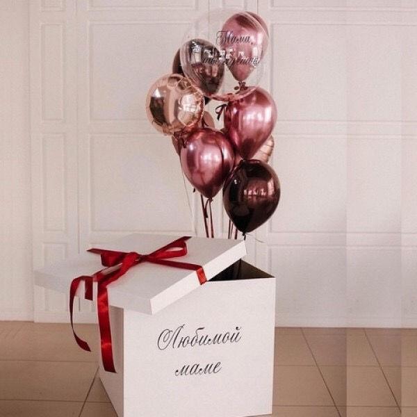 Коробка сюрприз Любимой маме
