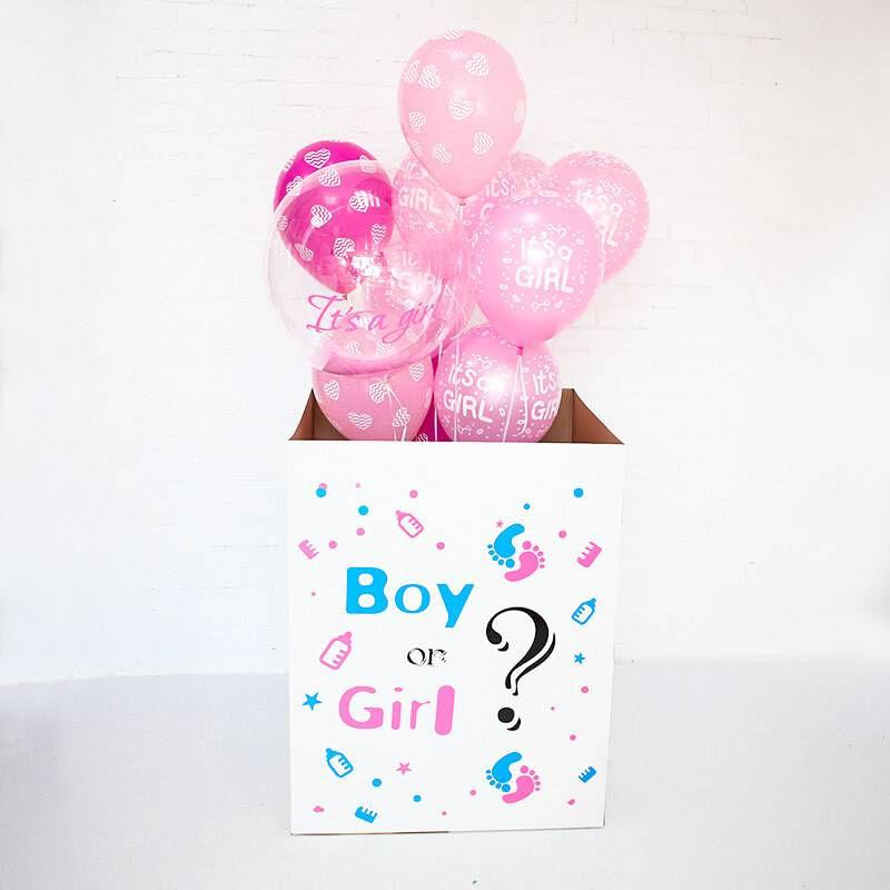Коробка сюрприз определение пола №4