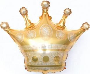 """Фигура """"Корона золото """" 71 см."""