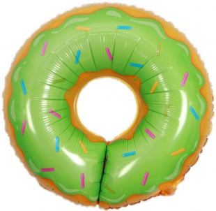 """Фигура """"Пончик зеленый"""" 69 см."""