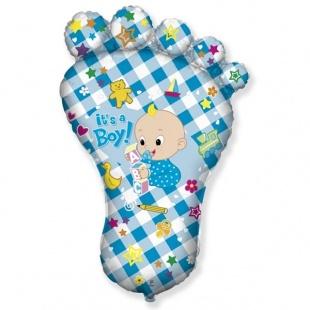 """Фигура """"Ножка малыша, Голубой"""" 97 см."""