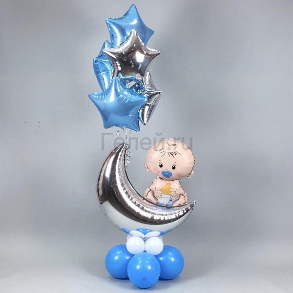 Фонтан с малышом