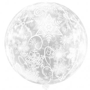 Сфера 3D Снежинки 56 см.