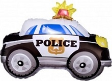 Полицейская машина 74 см.