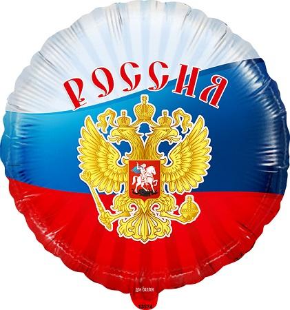 "Круг "" Россия, Триколор"" 46 см."