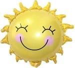 Солнышко улыбка 66см
