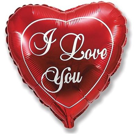 Сердце «I Love You» 46 см
