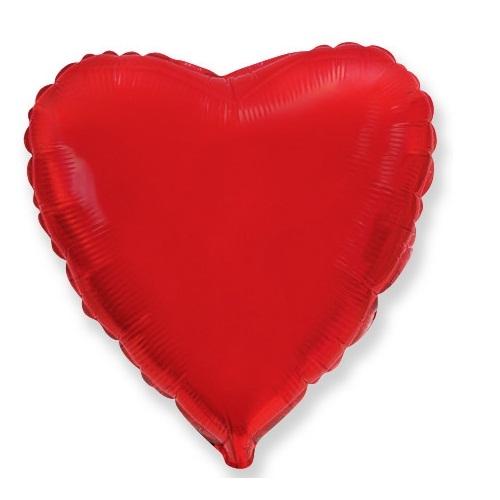 Сердце красное 46 см