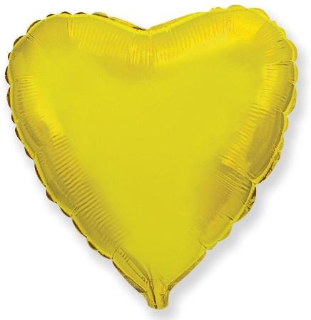 Сердце золото 46 см.