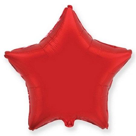 Звезда красная 46 см