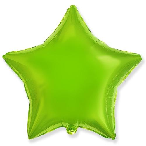 Звезда лайм 46см