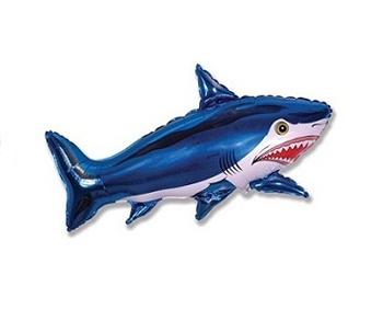 Страшная акула 107 см.