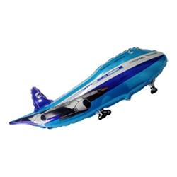 Самолет синий 99 см.