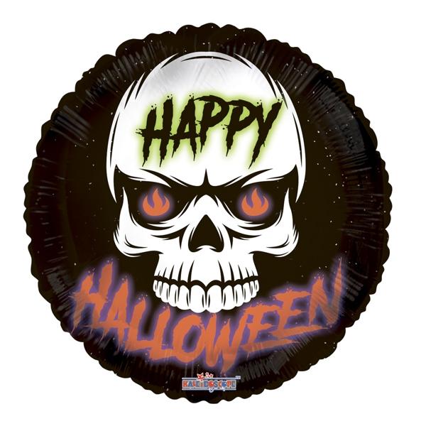 Круг Halloween Череп 45 см.