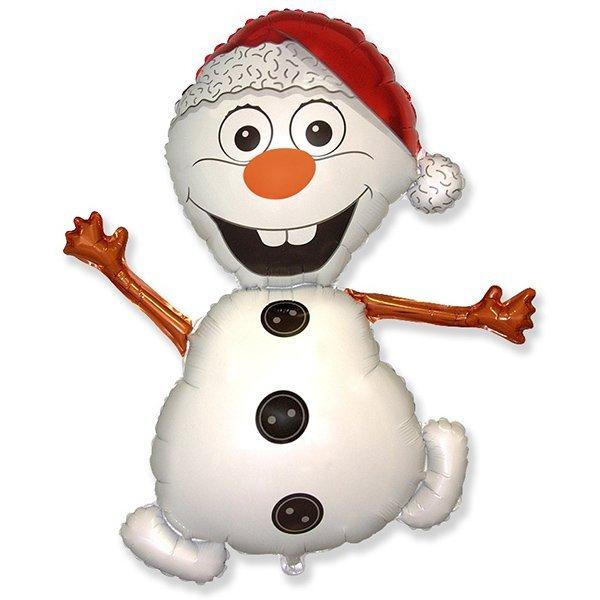 Снеговик 90 см.