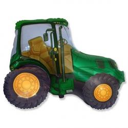 Трактор зеленый 93 см.