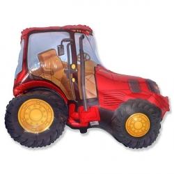 Трактор красный 93 см.