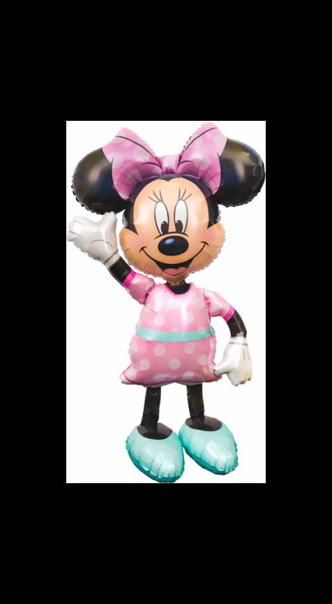 Ходячая Фигура, Минни, розовое платье 137 см