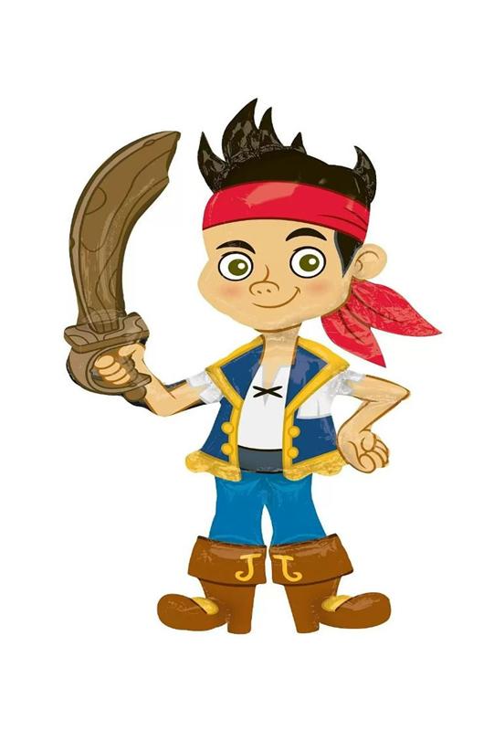 Ходячая Фигура Джейк пират 112см