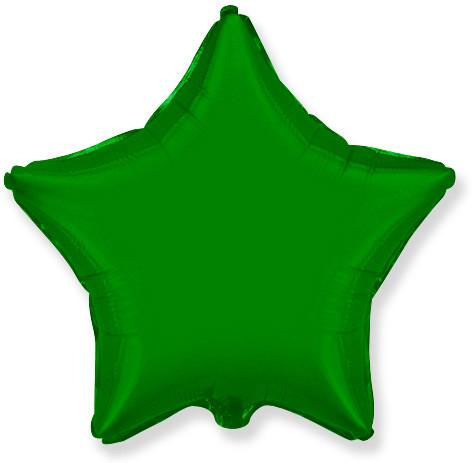 Звезда зеленая 46 см