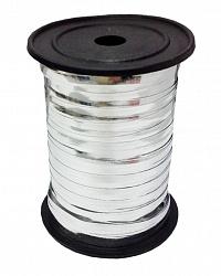 Лента металлизированная (0,5 см x 250 м) Серебро