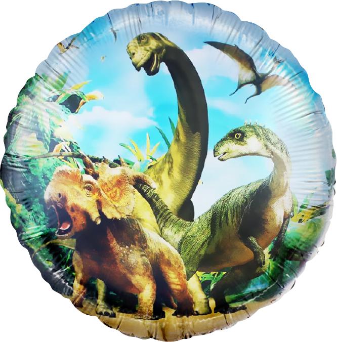Круг, Динозавры Юрского периода 46 см.
